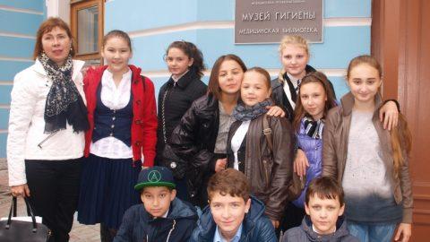Экскурсия 6 класса в музей гигиены.