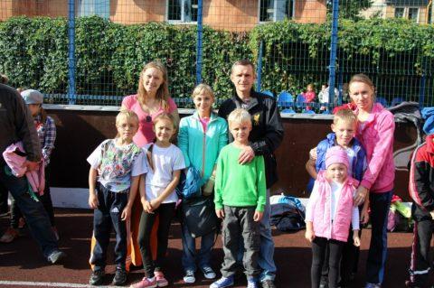 Участие в районных соревнованиях по городошному спорту и в легкоателической эстафете