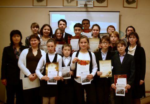 15 ноября 2014 года в нашей школе прошёл конкурс чтецов.