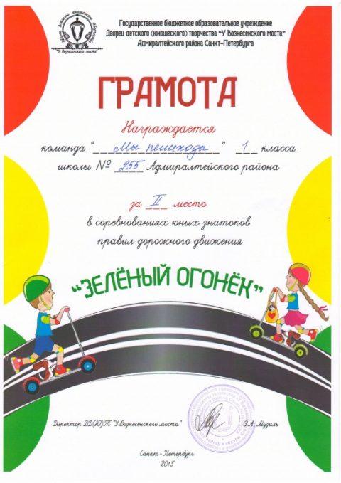 Районный конкурс «Зеленый огонек»
