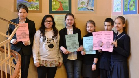 Выставка рисунков учащихся 5 и 6 классов «Лирический пейзаж»
