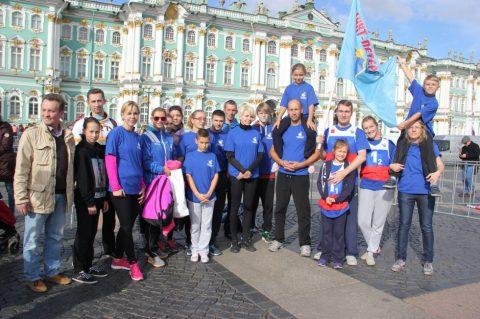Участие в городской легкоатлетической эстафете в рамках Спартакиады Семейных команд