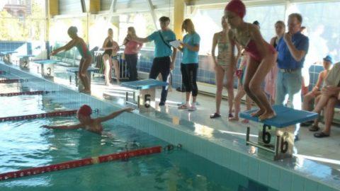 Спартакиада Семейных команд по плаванию