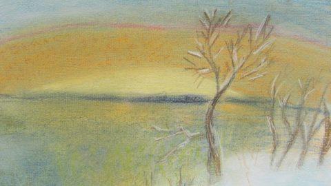Тематическая выставка «Зимний пейзаж»