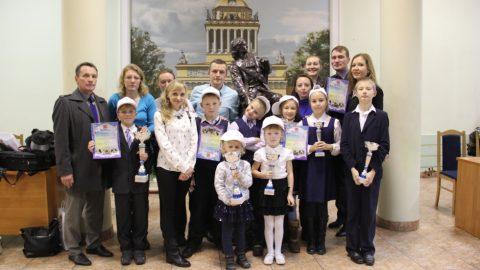 Церемония награждения по итогам года Спартакиады семейных команд «Семейные игры – 2015»