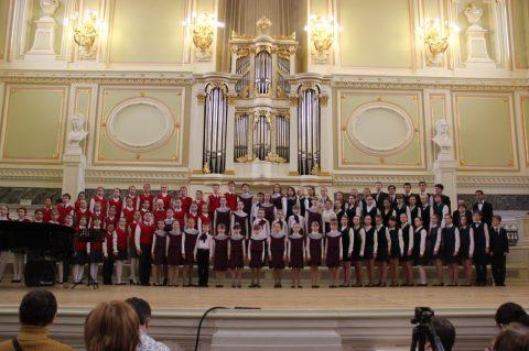 Конкурс-фестиваль хоровых коллективов «Звучала музыка с небес»