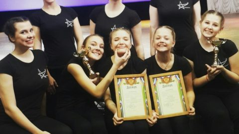 Фестиваль молодёжного современного танца «Волна успеха»!