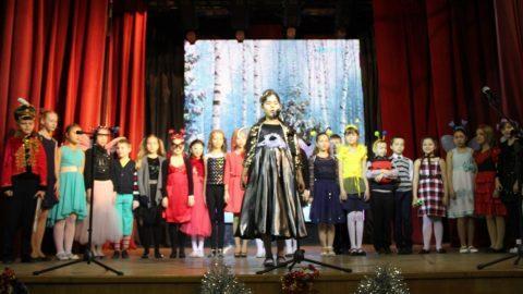 Новогодняя елка для учащихся начальных классов
