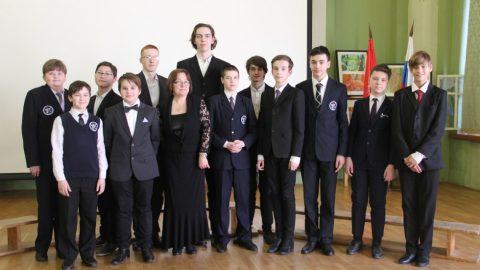 Поздравляем старший хор с победой на районной хоровой олимпиаде