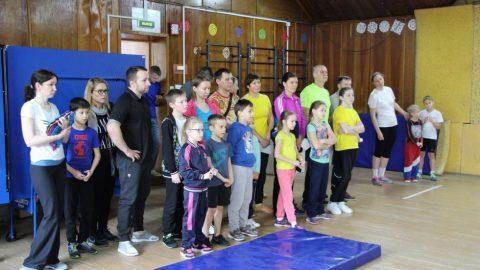 Районные соревнования «Весёлые старты» по программе Спартакиады Семейных команд