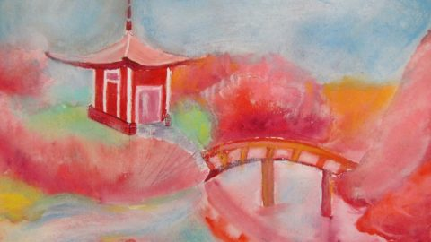 Новая выставка рисунков на тему «Япония»