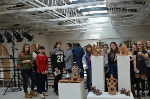 6-8 классы посетили выставку детского творчества в Манеже
