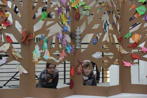 Выставка детского творчества «Соберемся все вместе»