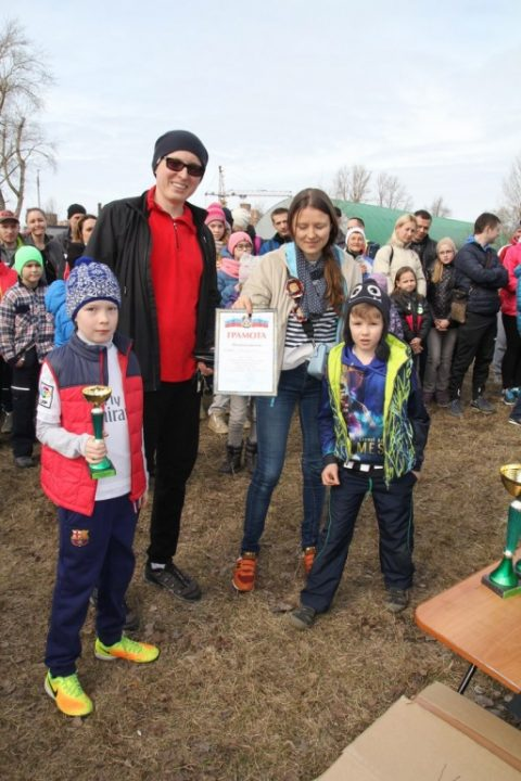Районные соревнования по спортивному ориентированию в рамках Спартакиады семейных команд