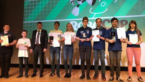 Открытый Российский этап чемпионата RoboCup Russia Open 2017