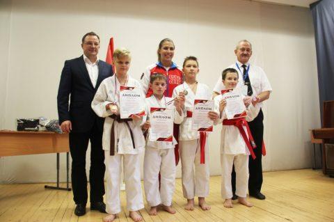 Районные соревнования по каратэ «Открытое татами 2017»