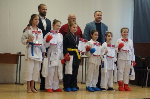 Районные соревнования по каратэ школьников Адмиралтейского района Санкт-Петербурга «Открытое татами 2019»