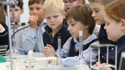 Урок физики и химии для 3 класса