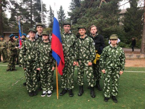 Районная военно-спортивной игра Зарница
