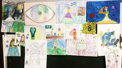 Конкурс рисунков на тему «царица естественных наук»