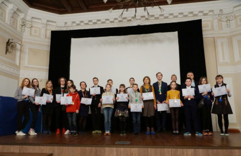 Награждение победителей и призёров в Региональном этапе V Всероссийской олимпиады по 3d технологиям
