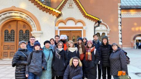 Учащиеся 11 класса совершили незабываемую поездку в Москву