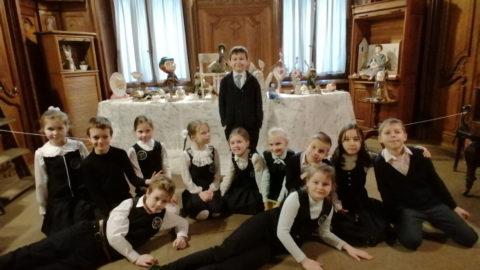 Второклассники встретили наступающий праздник Весны с Алисой
