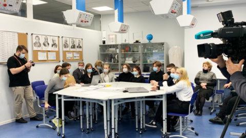 Команда нашей школы приняла участие во Всероссийском форуме профессиональной ориентации «ПроеКТОриЯ»