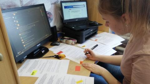 Информация об организации смешанной формы обучения