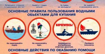 Купание_инфографика