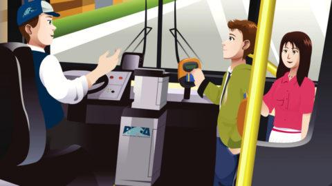 Оформление бесплатного проездного билета